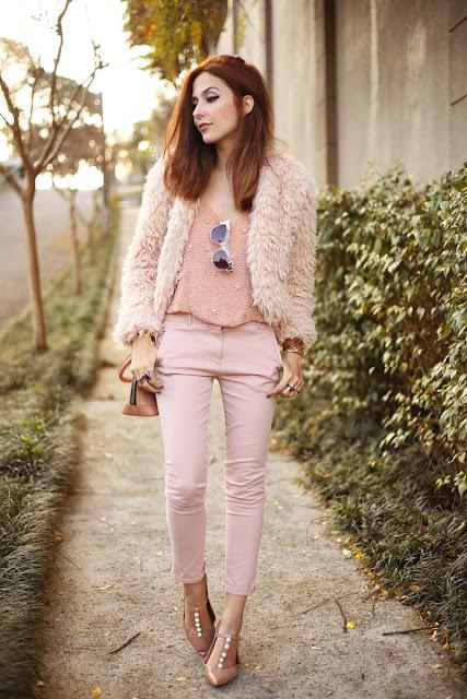 rosa moda tendência 2017