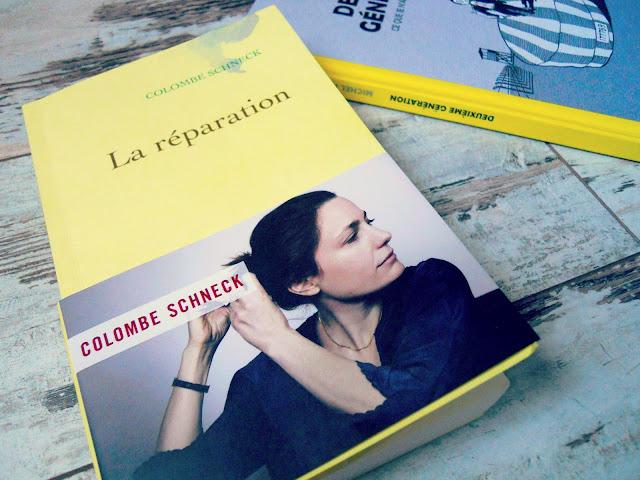 La réparation de Colombe Schneck : Choisir la vie en guise de réparation (Litterature francaise) 2