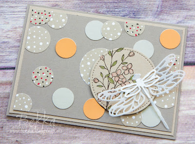 Detailed Dragonfly Die - A Sneak Peek of a New Stampin' Up! UK Die