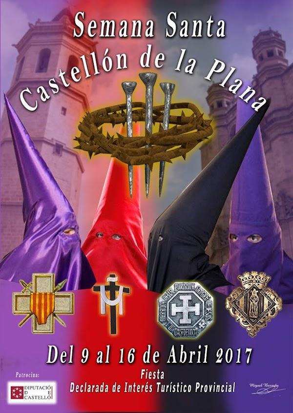Horario e Itinerario Semana Santa Castellón 2017