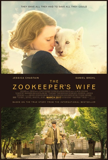 The Zookeepers Wife 2017 English 480p BRRip 350MB ESubs