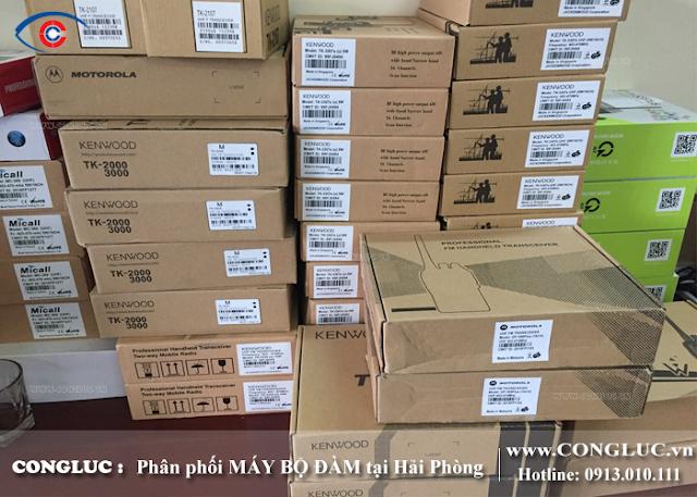 Bán bộ đàm giá rẻ tại Quận Lê Chân