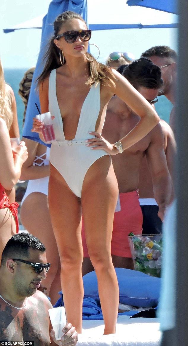 Daring bikini photos