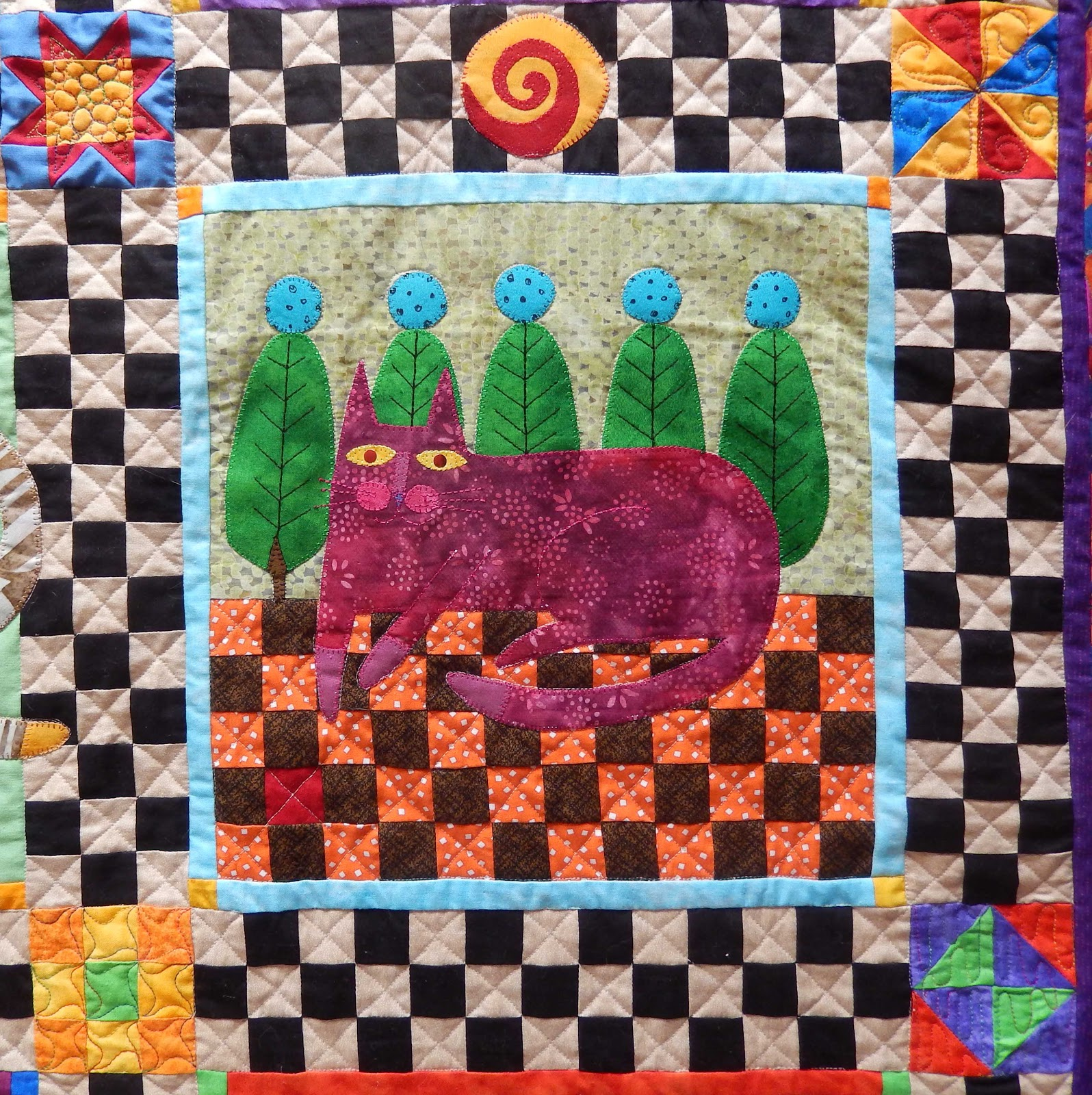 Pussy march quilt