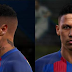PES 2013 NEW NEYMAR FACE HAIR WITH TATOO 2017