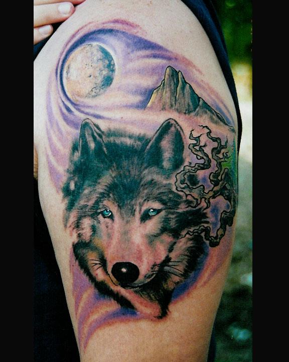 wolf tattoos 11