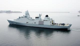 Frigate Iver Huitfeldt Class