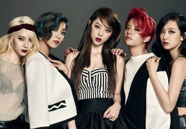 f(x) to perform in London for free! | Daily K Pop News F(x) Amber Pink Tape