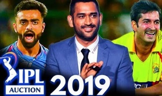IPL Auction 2019 : List Of Sold, Unsold Players In IPL Auction 2019