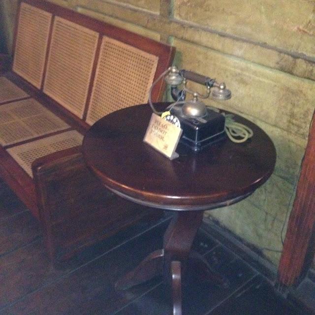 Old telephone at the Museo Parian sa Sugbo