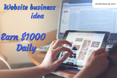 Website business start today and start earning passive income,WordPress,blogging