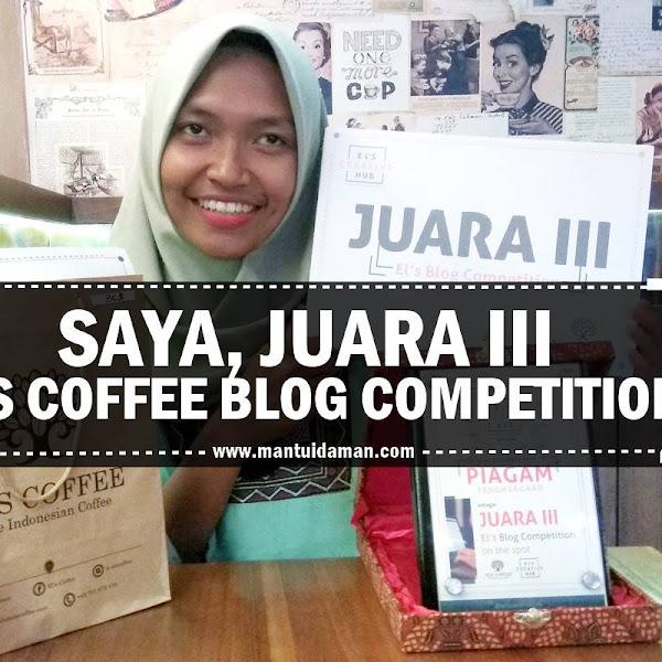 Saya Juara 3 El's Blog Competition
