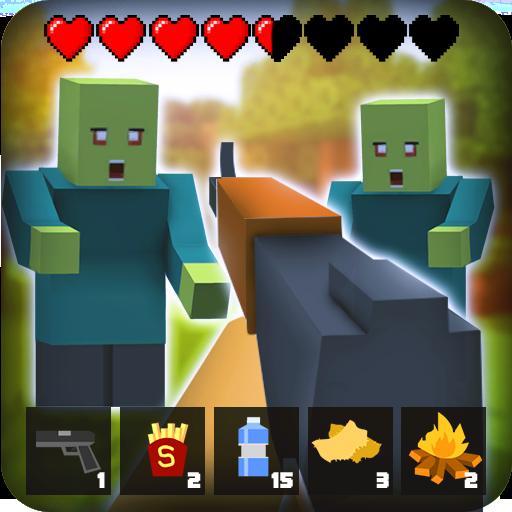 تحميل لعبة Zombie Craft Survival v5.3 مهكرة وكاملة للاندرويد أخر اصدار