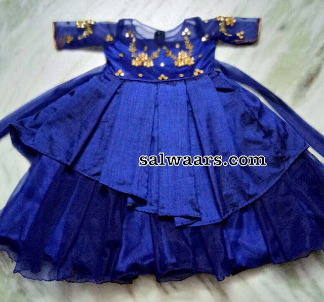 Two Step Blue Frock