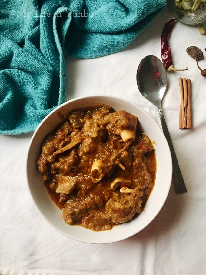 Kosha Mangsho | Kolkata Goat Meat Curry