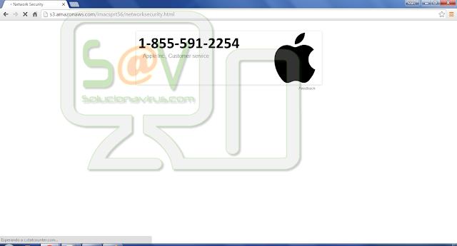 S3.amazonaws.com pop-ups (Falso soporte)