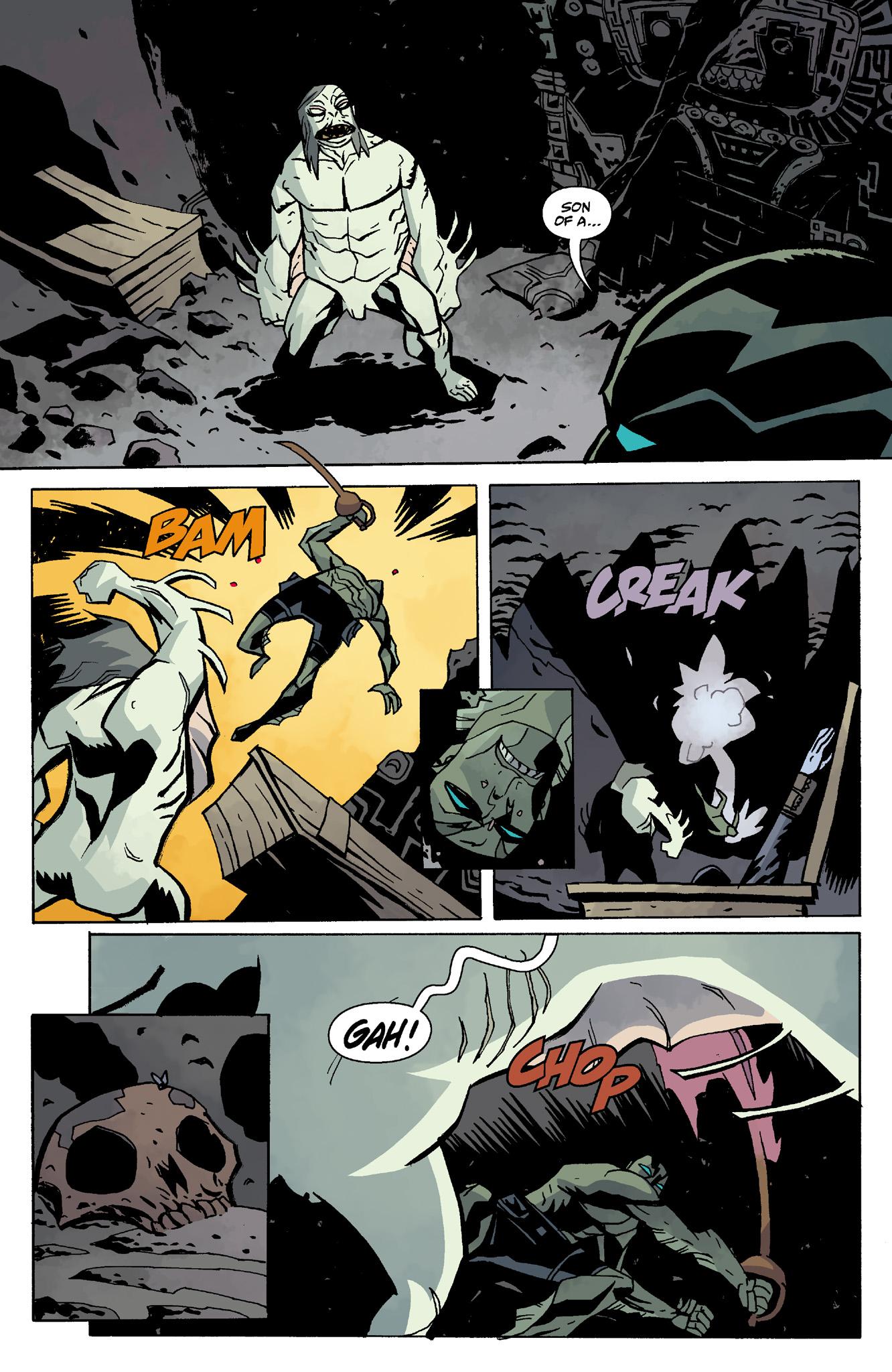 Read online Abe Sapien comic -  Issue #8 - 16