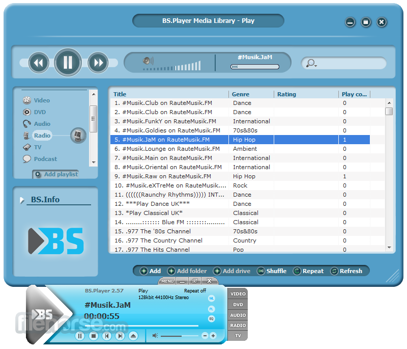 Download BSplayer 2.6.2.1068 ~ Free software full version
