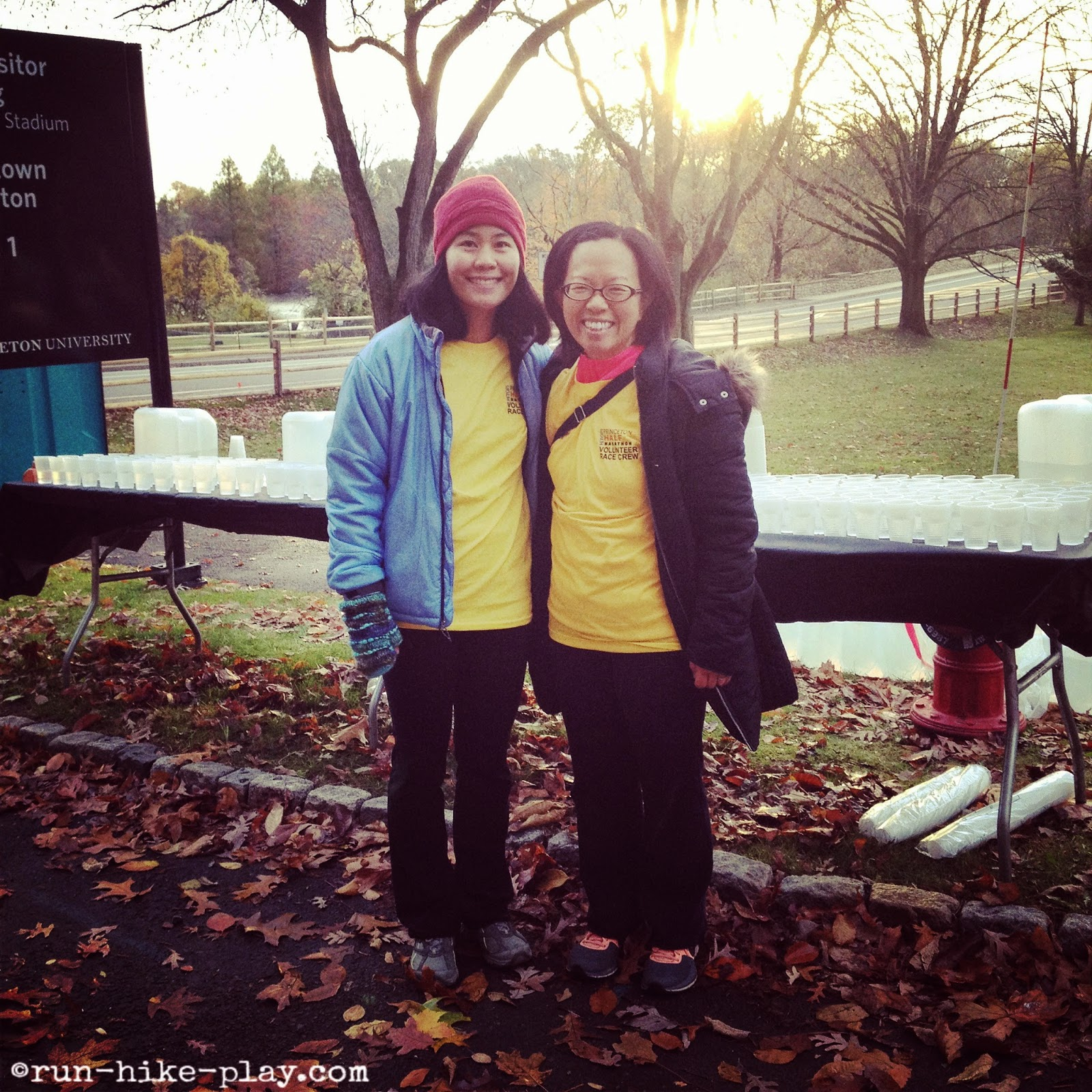 Volunteering for the Princeton Half Marathon