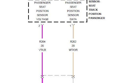 B1B94 Passanger Seat Track Position Sensor Circuit High