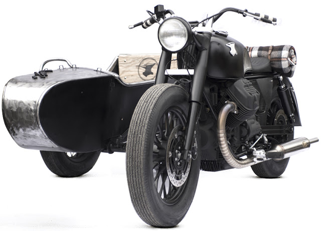 Moto Guzzi Sidecar Combination by Anvil