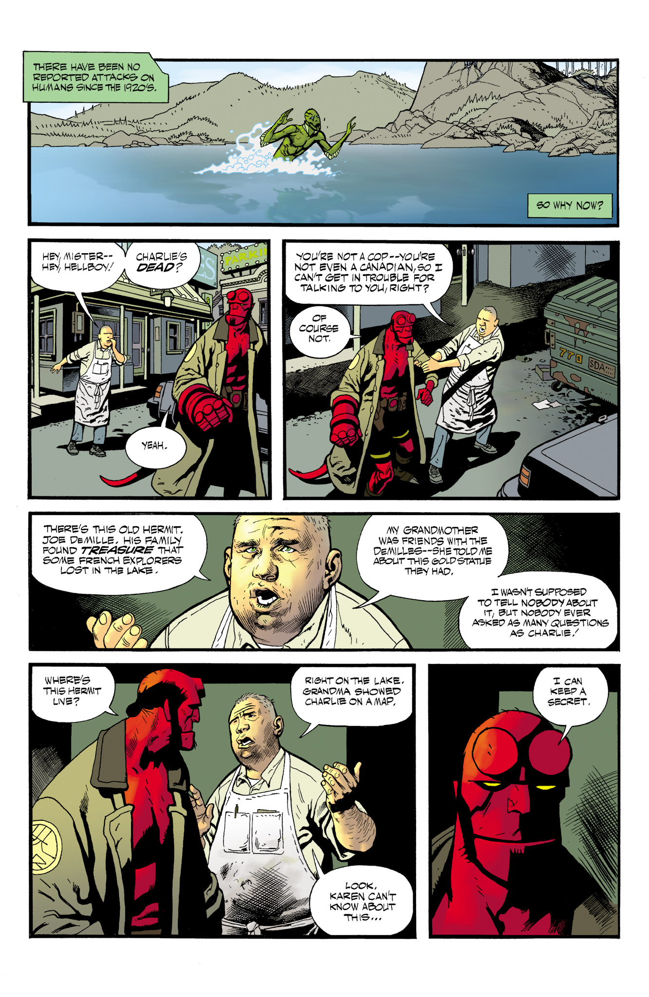 Read online Abe Sapien comic -  Issue #23 - 13