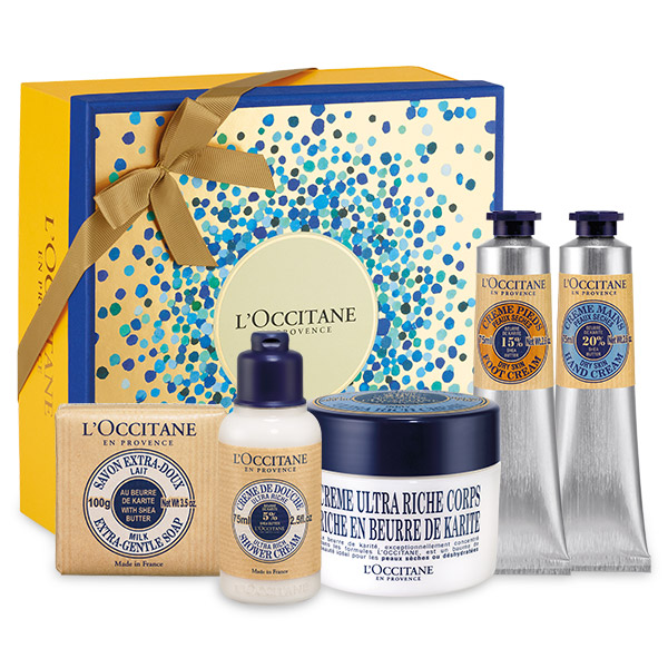 L'Occitane en Provence's Nourishing Shea Butter Gift Set.jpeg