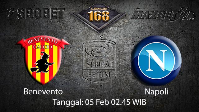 PREDIKSIBOLA - PREDIKSI TARUHAN BOLA BENEVENTO VS NAPOLI 05 FEBRUARI 2018 ( ITALIAN SERIE A )