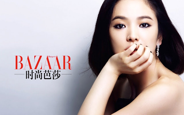 Song Hye Kyo, 송혜교, Song Hye Kyo Harpers Bazaar