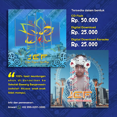 Pemesanan CD Lagu Banjar JEF