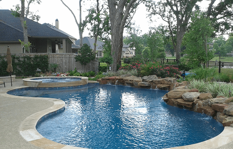 Custom Free From Inground Rock Pools DFW  4