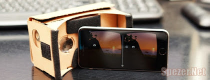 virtual reality smartphone Google Cardboard compatible