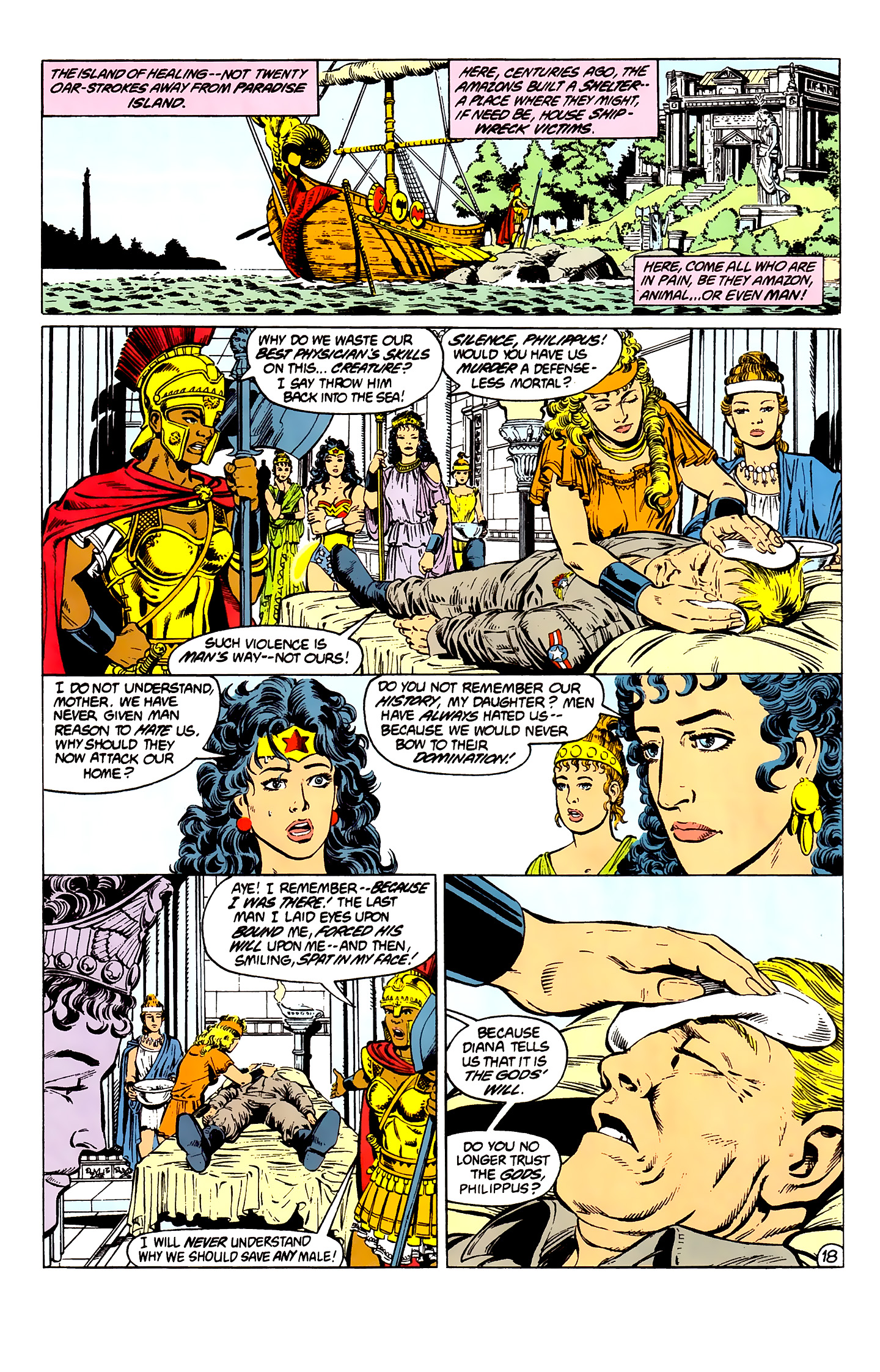 Read online Wonder Woman (1987) comic -  Issue #2 - 19