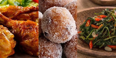 Top 10 this week's Recipes, chicken Ungkep, Sauteed Kale to Glutinous Doughnuts