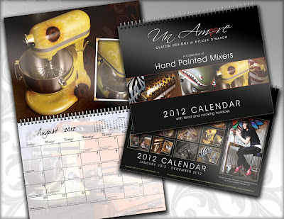 2012 calendar with KitchenAid mixers =