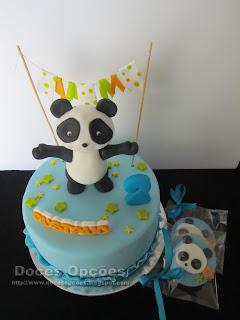 O Panda no 2º aniversário do Gustavo