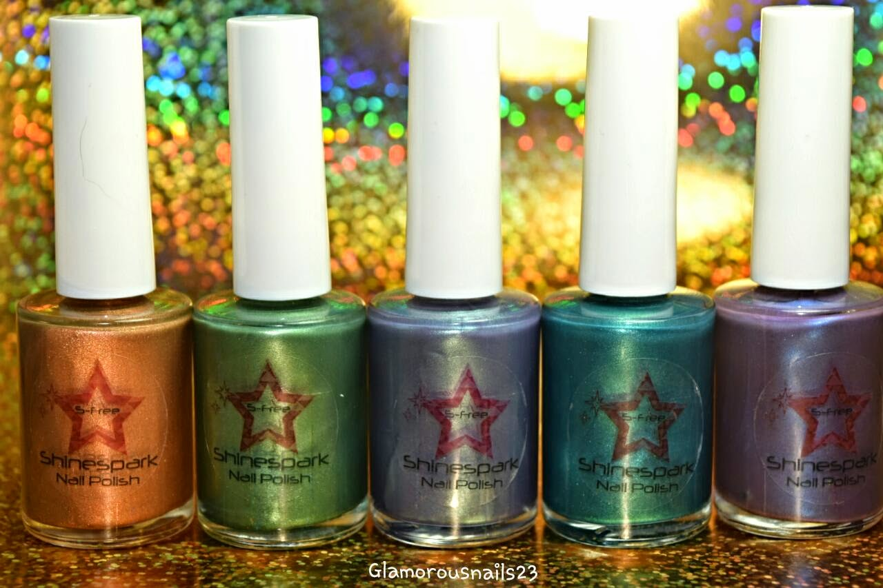 Shinespark Polish The Heat Collection