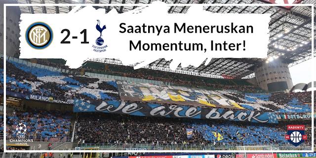 Review Inter Milan vs Tottenham Hotspur