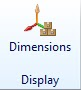Dimensions Display icon as seen in AX 2012 R3