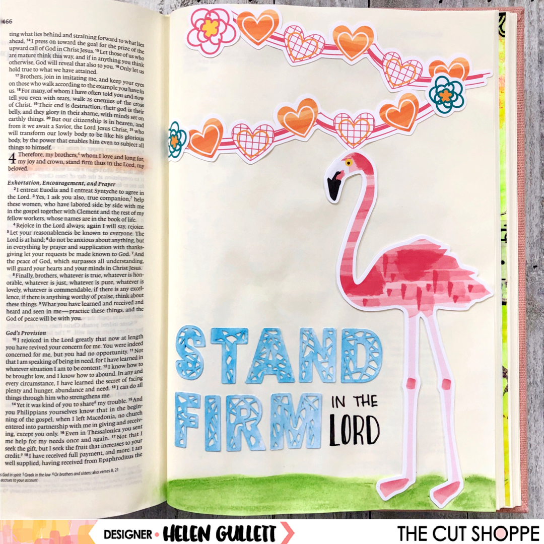 The Cut Shoppe Bible Journaling With Printable Files Helen Gullett
