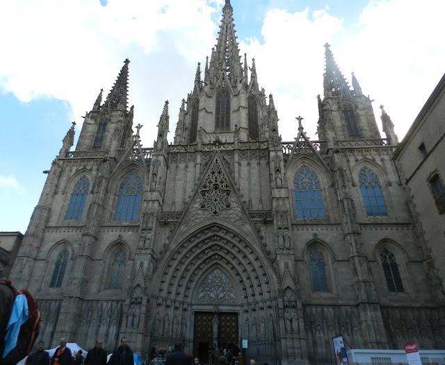 Catedral de Barcelona, Bairro Gótico