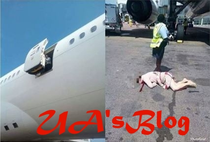 Heartbreaking: Air Hostess Commits Suicide By Jumping Out Of A Plane Inside Airport (Photo)