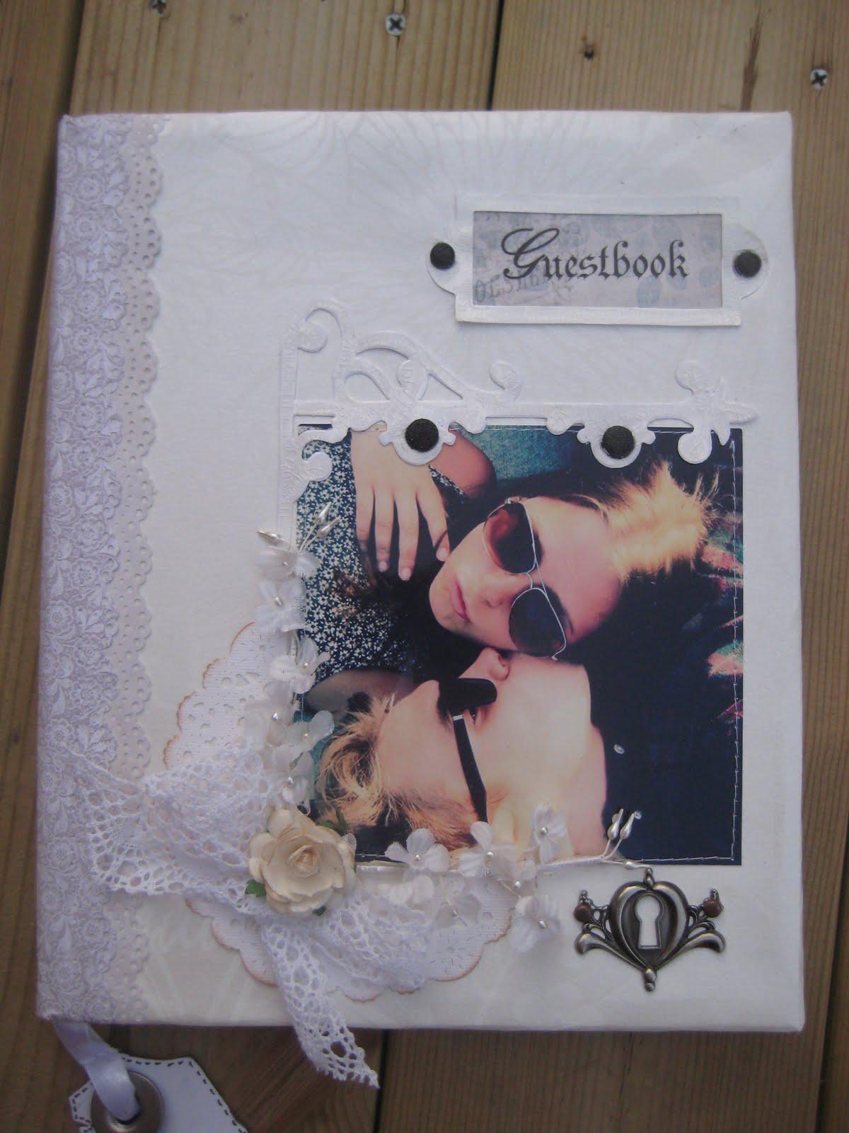 grattiskort till pojkvän Mezzanotteskapar  Mixed Media made by Katja: Gästbok och  grattiskort till pojkvän