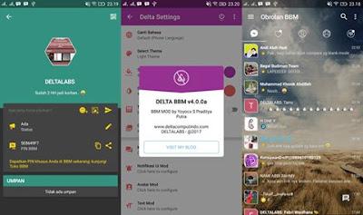 BBM Mod Delta v4.0.0a Base BBM V3.2.3.11 Apk