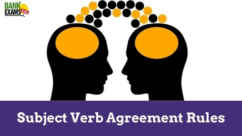 Subject Verb Agreement Rules With Examples Bank Exams Today