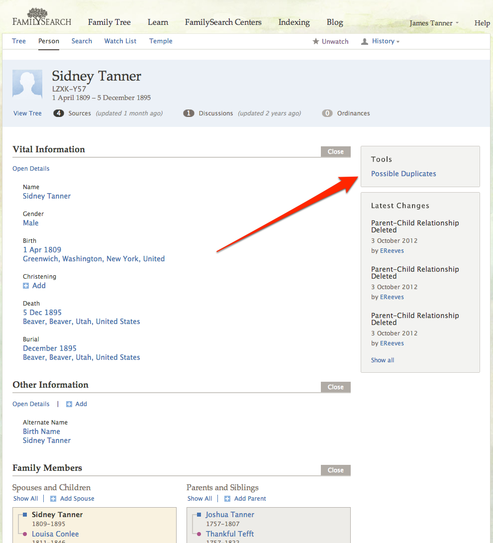 Genealogy's Star: The Last Piece Falls Into Place? -- Merge Comes to FamilySearch Family Tree?
