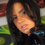 Andrea Rincon, Selena Spice Galeria 5 : Vestido De Latex Negro Foto 74