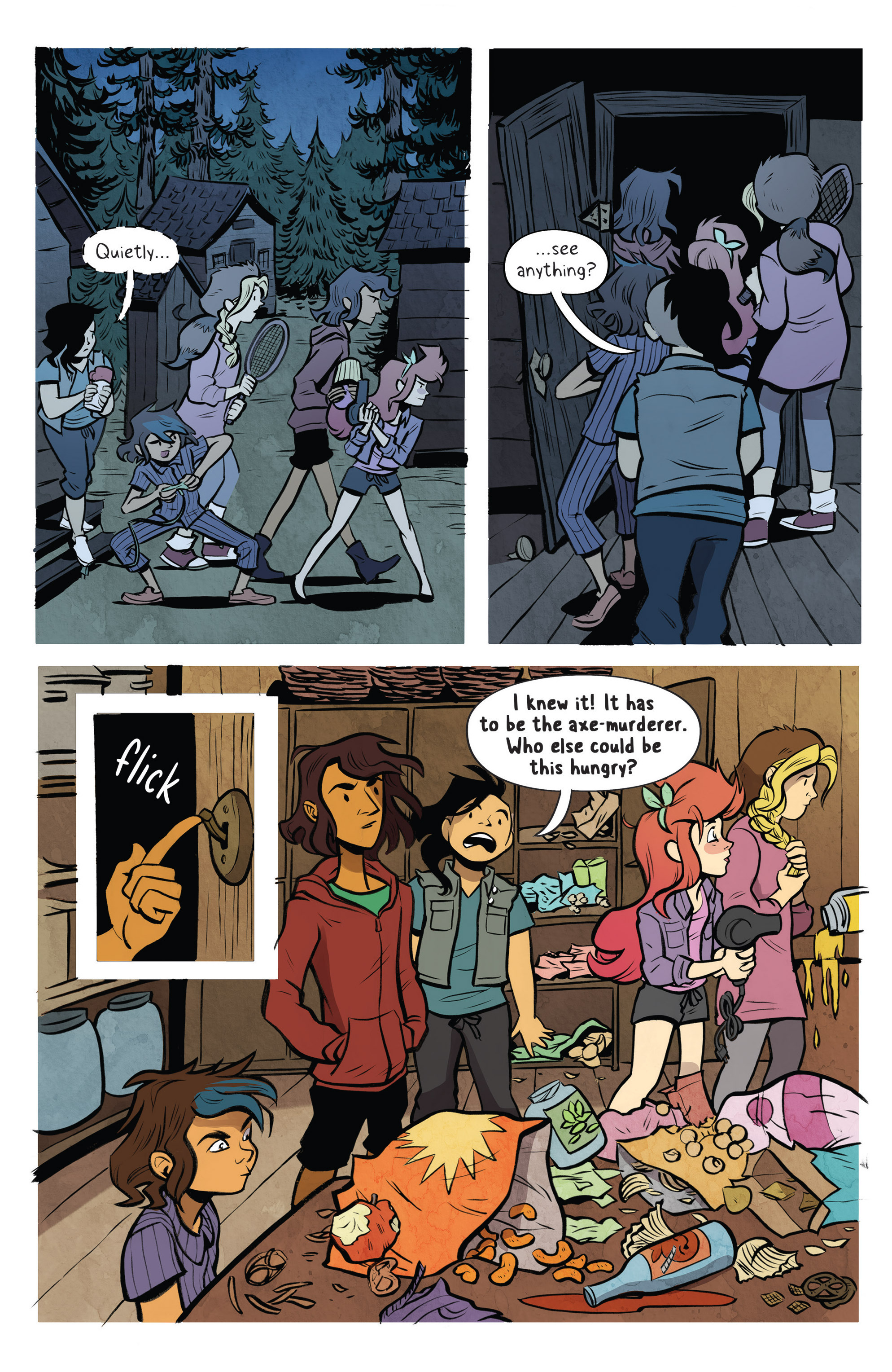 Read online Lumberjanes: Makin' the Ghost of It 2016 Special comic -  Issue # Full - 19