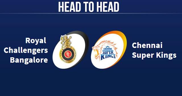 CSK vs RCB Head to Head: RCB vs CSK Head to Head IPL Records: IPL 2019