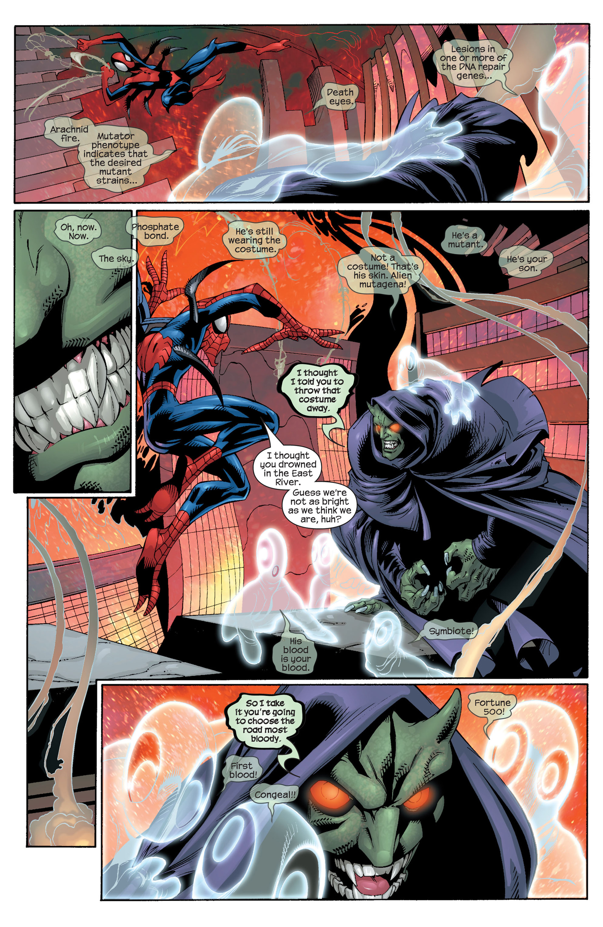Read online Ultimate Spider-Man (2000) comic -  Issue #25 - 11